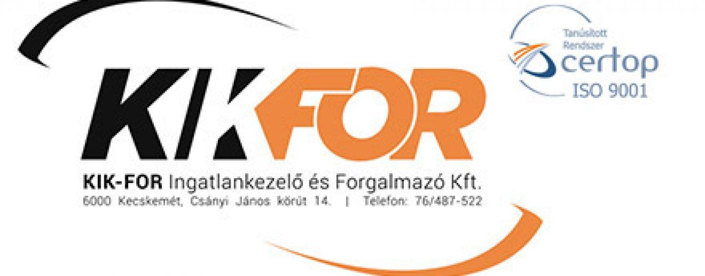 KIK-FOR Kft. munkatársat keres bérszámfejtő, munkaügyi ügyintézői pozícióra