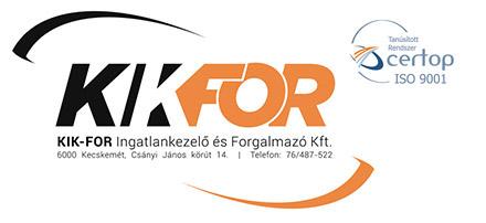 KIK-FOR Ingatlankezelő és Forgalmazó Kft.