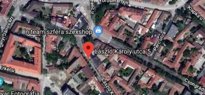 László Károly u. 5. fszt. 5.szám alatti ingatlan pályázati kiírása