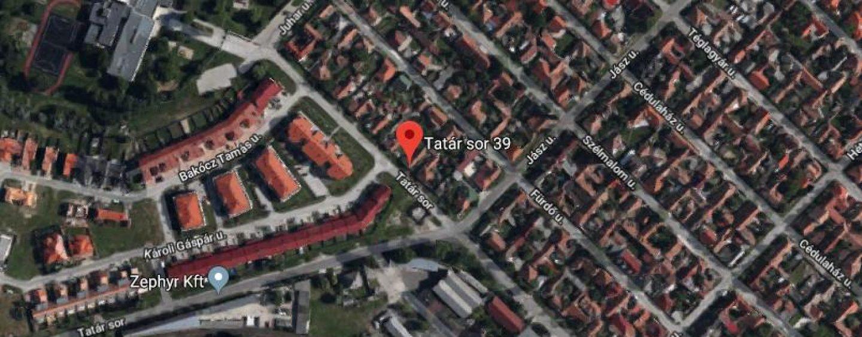 Kecskemét, Tatársor 39B szám alatti ingatlan pályázati kiírása